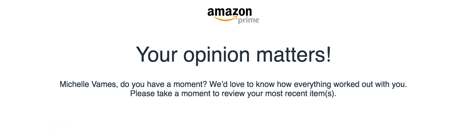 A Review of My Recent Amazon Purchase